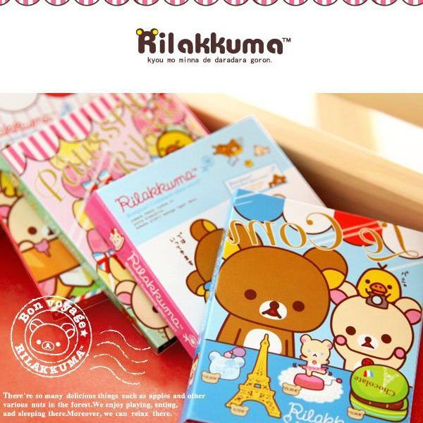 rilakkuma note pad memo pad sticky note book kawaii cute stationery shop online