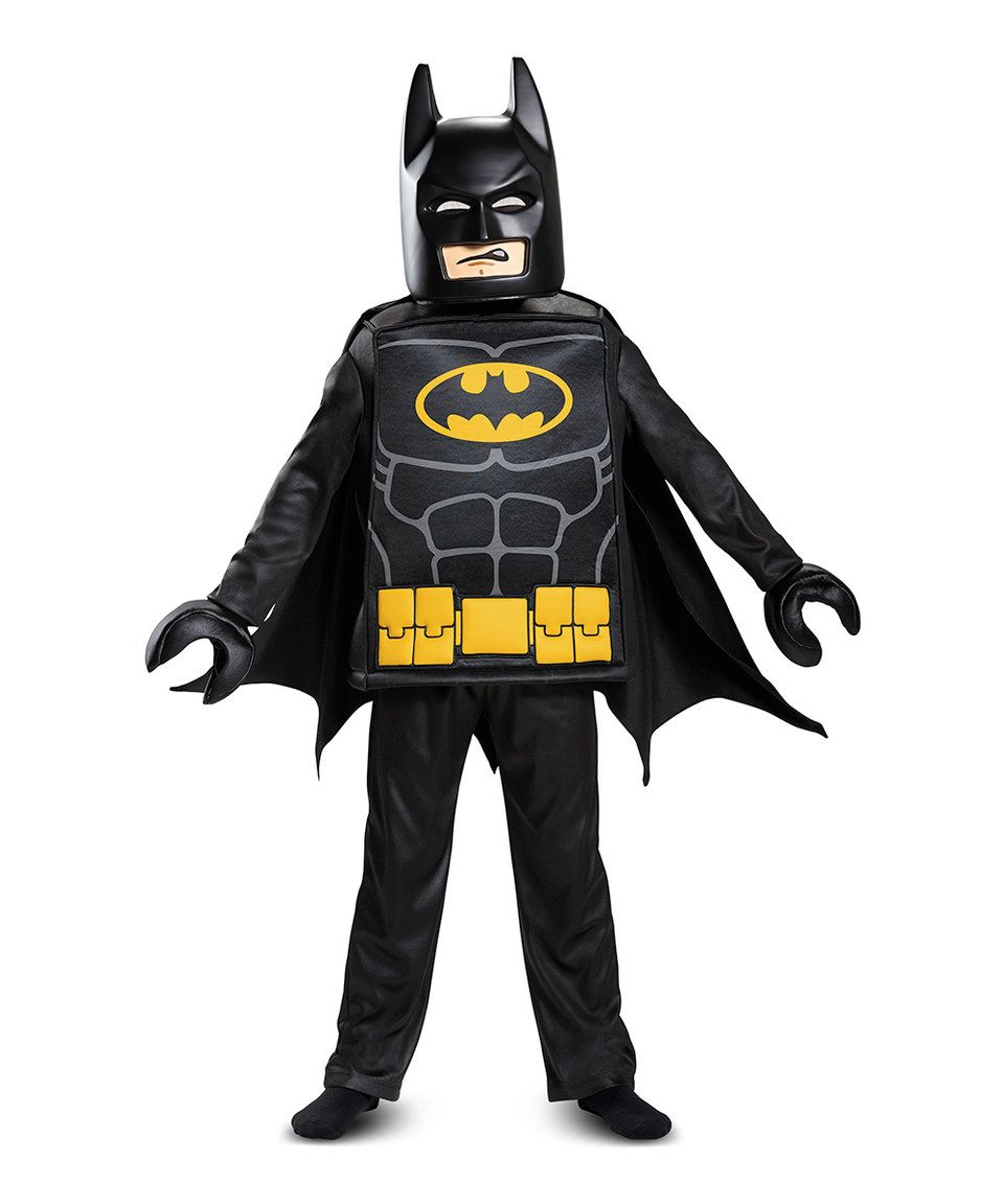 Take a look at this LEGO Batman Deluxe DressUp Set Kids
