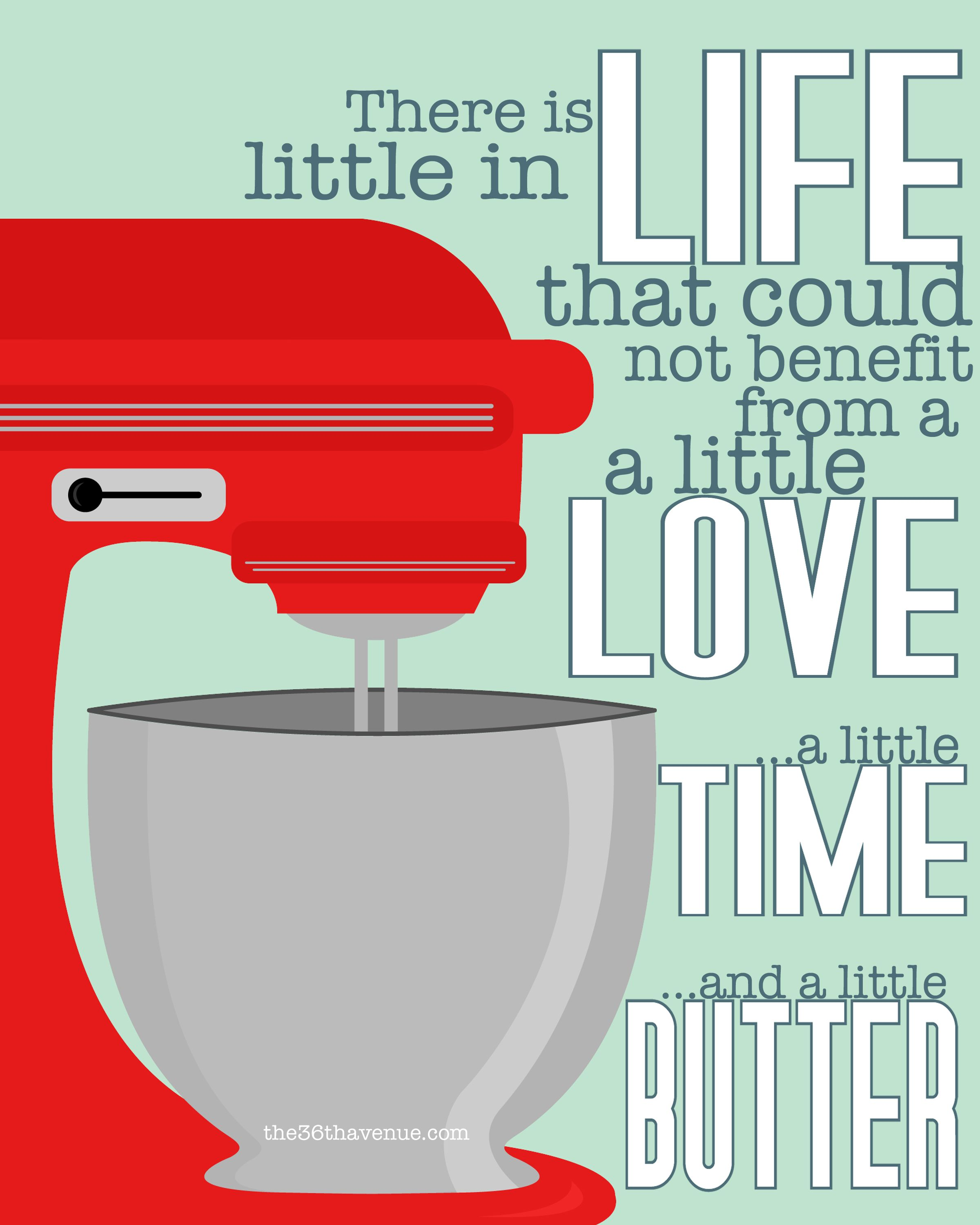 Free Printables Inspirational Quotes Baking quotes