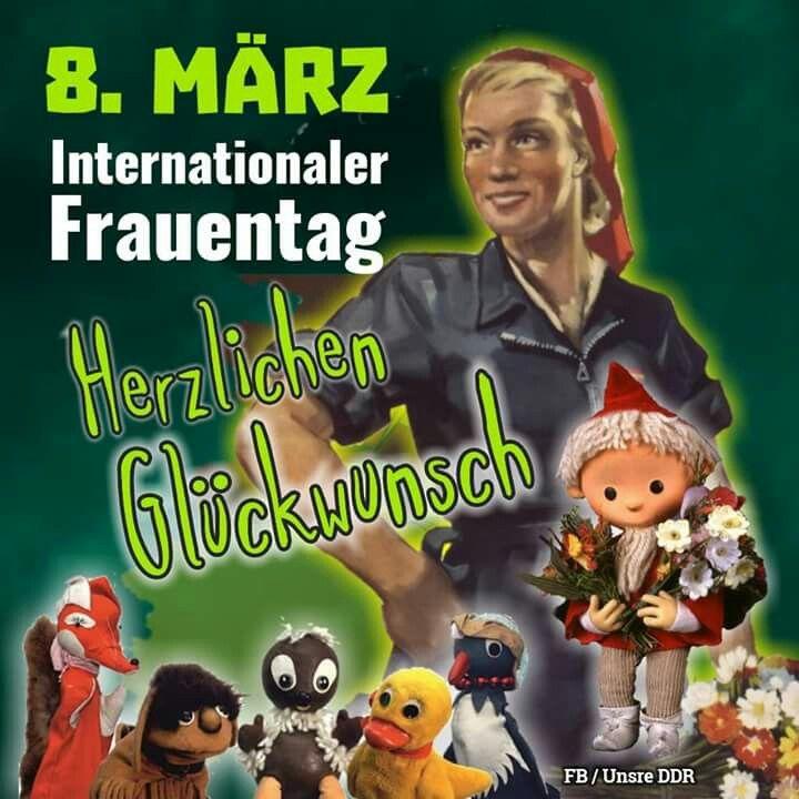 Pin Von Heike Auf Ddr Internationaler Frauentag Frauentag