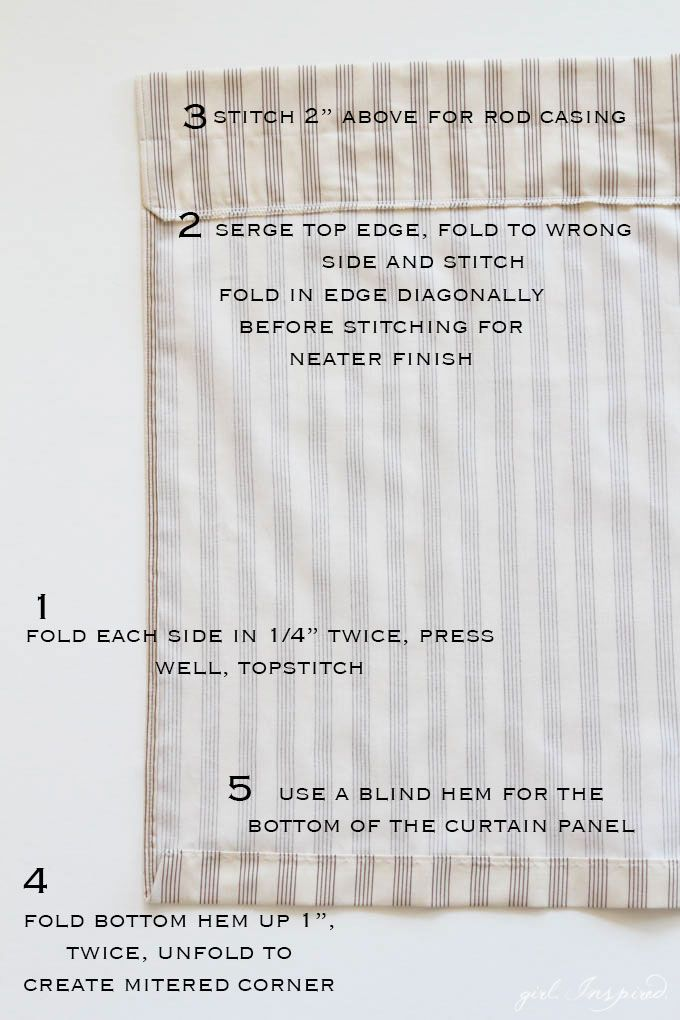 Simple Curtains Sewing Tutorial Tutorials Sewing Crafts And Crafts