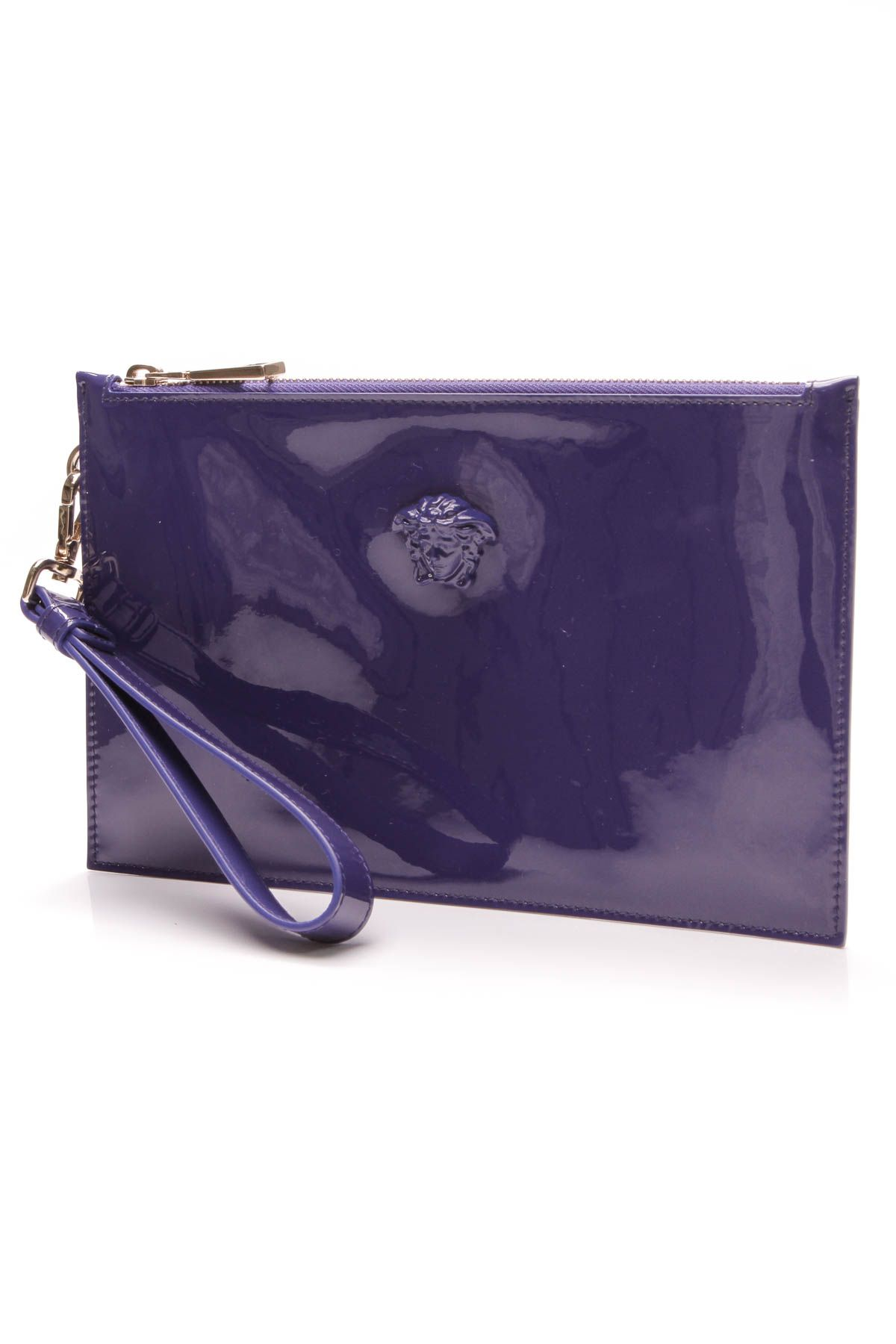 bfdfedba2e47 Medusa Wristlet Clutch - Blue Patent Leather in 2019 | In The Bag ...