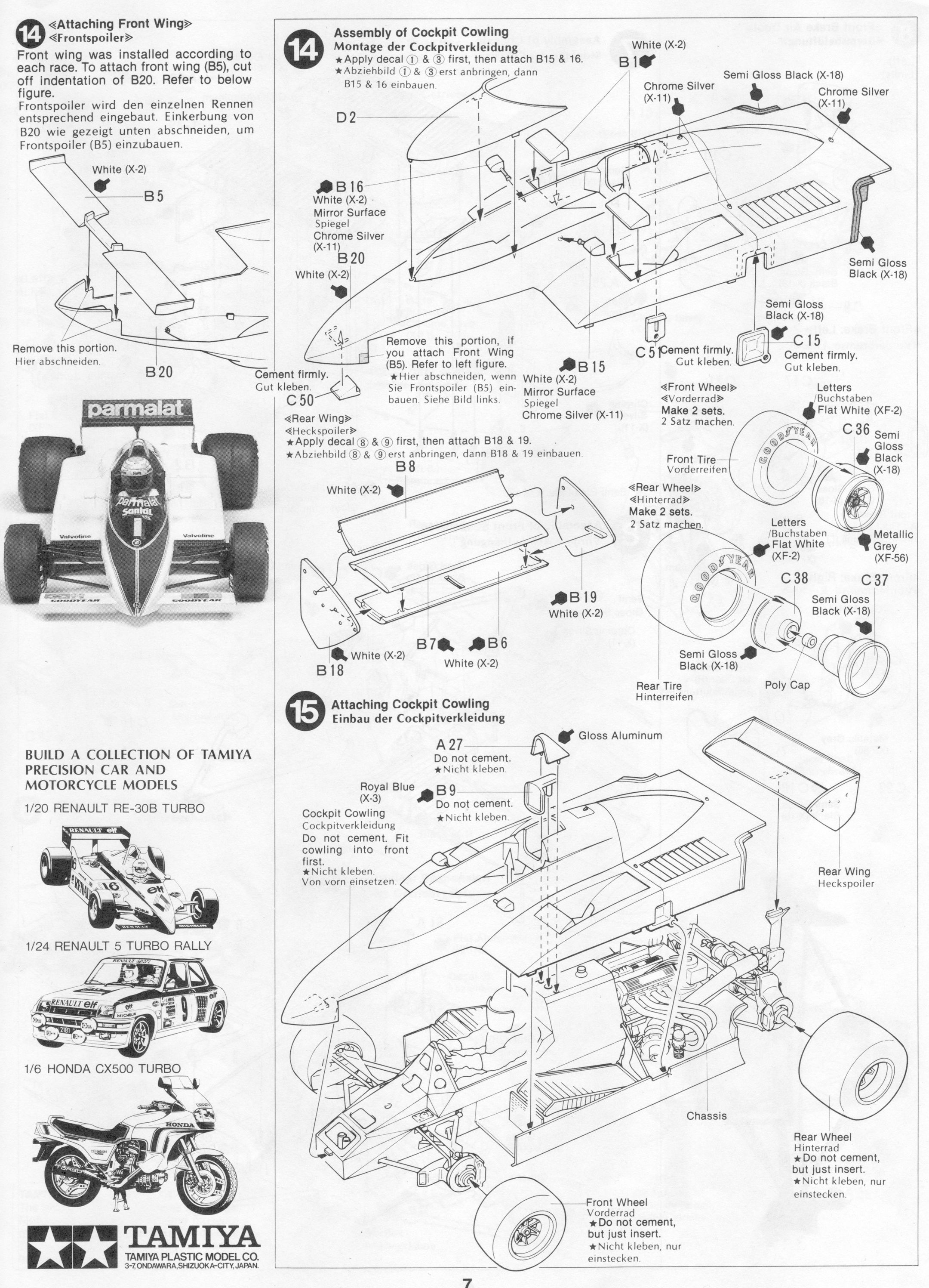 Pin By Gluefinger On Tamiya 1 20 Brabham Bt50 Pinterest F1 Bmw Engine Diagram