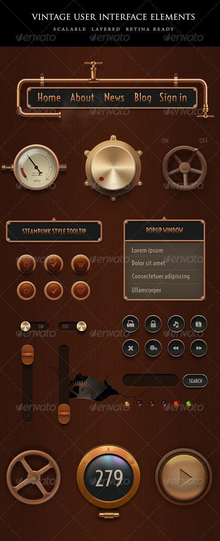 Pin Na Doske Steampunk