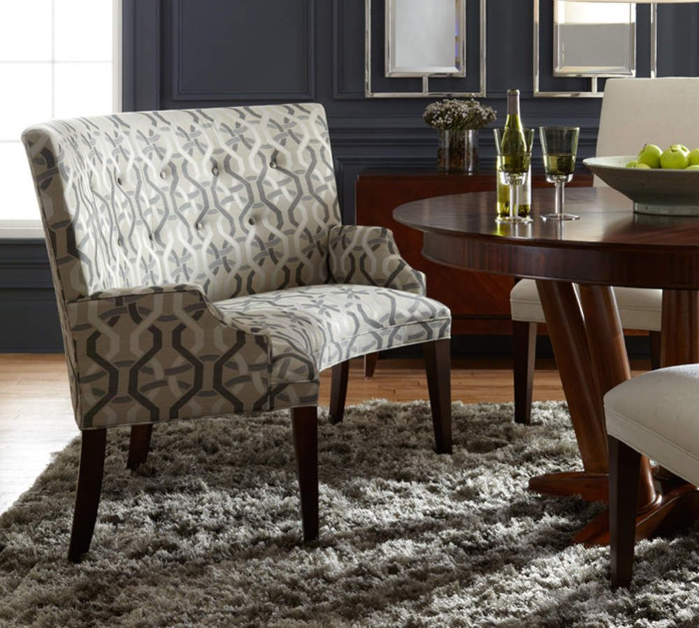 Banquette seating dining bench with back upholstered