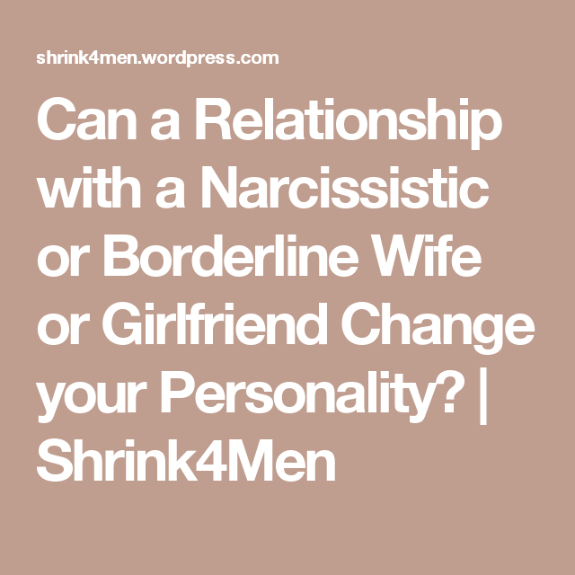 narcissistic girlfriend in relationship