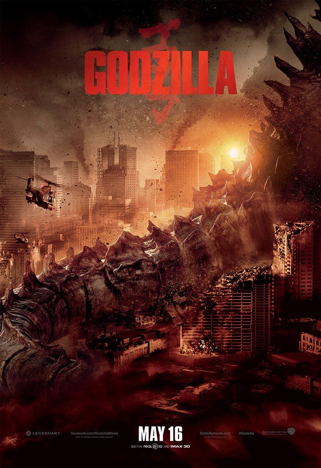 Godzilla 2014 Poster Godzilla 2014 Movie Godzilla New Movie Posters