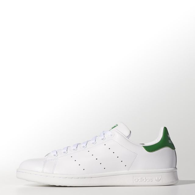 Adidas Stan Smith Di Cuoio (Og Pack) Bianche Adidas Asia / Medio