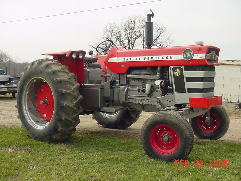 1965 Massey-Ferguson 1100 | Tractors | Tractors, Old farm