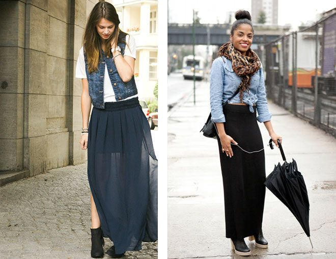 1000  images about Faldas on Pinterest | Maxi skirts, Skirts and Zara