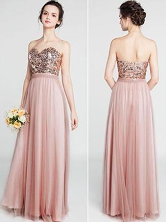 Sweetheart Dusty Rose Bride... Sweetheart Dusty Rose Bride... Dusty Rose  Bridesmaid Dresses 58066dce0c81
