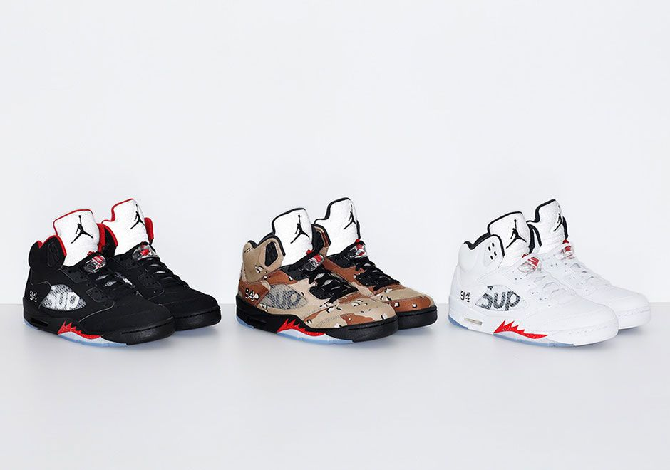 new arrival 8bfb2 3921a Supreme Jordan 5 Release Date October 16th   SneakerNews.com