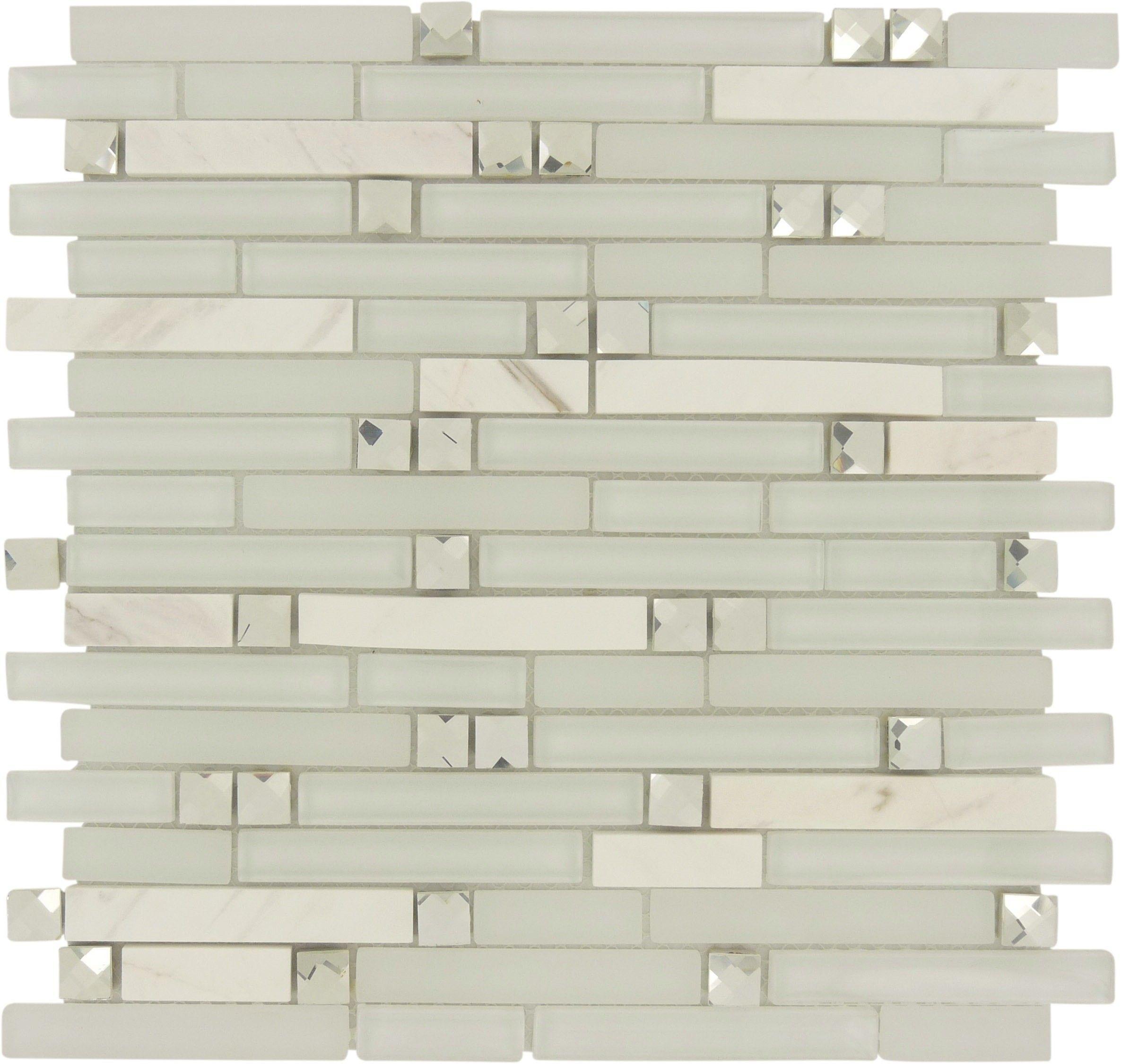 Sheet Size: 1 Sq. Ft. Tile Size: Random Bricks Tiles Per