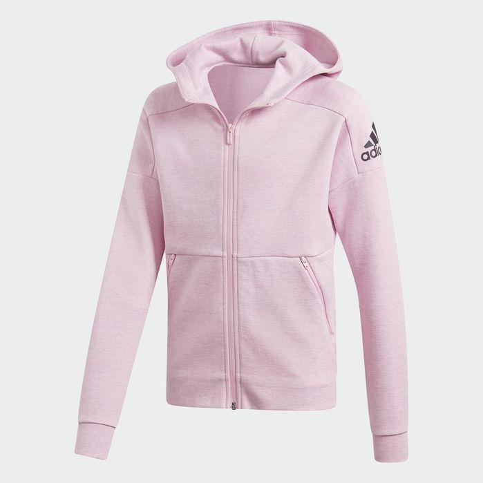ID Stadium Hooded Track Jacket True Pink Kids | Jackets