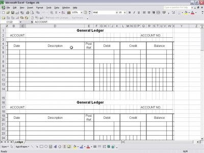 General Ledger Business and the Brooklyn Queen Pinterest - accounting manual template