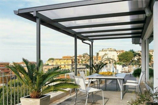Metacrilato chill out y exterior pinterest deco - Techos de terraza ...