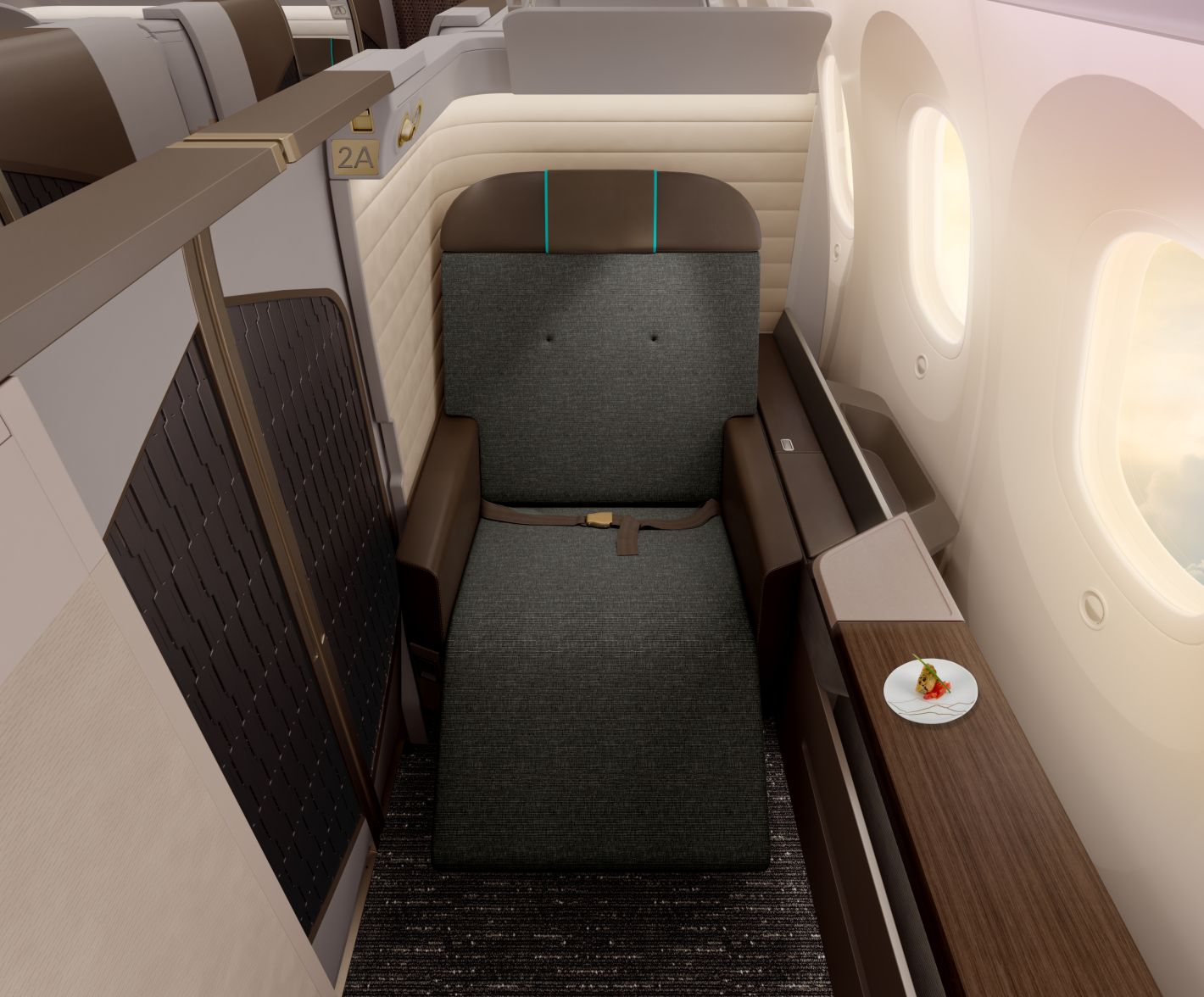 Oman Air Introduces New Flagship First Class Suite For 787