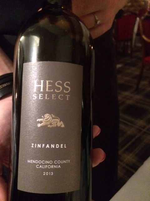 Zinfandel 2013: Hess Select (California)