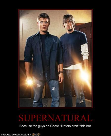 Because the guys on Ghost Hunters aren't this hot.