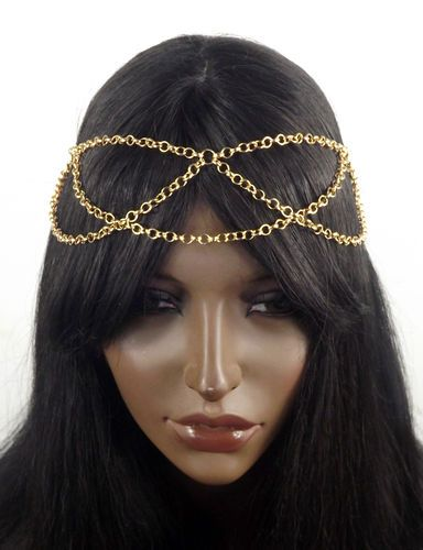 Rose Gold Head Chain Headpiece HURR Pinterest Chain headpiece