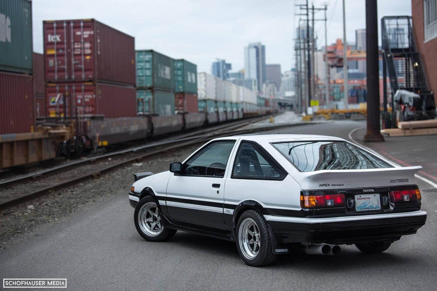 Tofu Delivery Panda Ae86 5760x3840 With Images Car Ae86