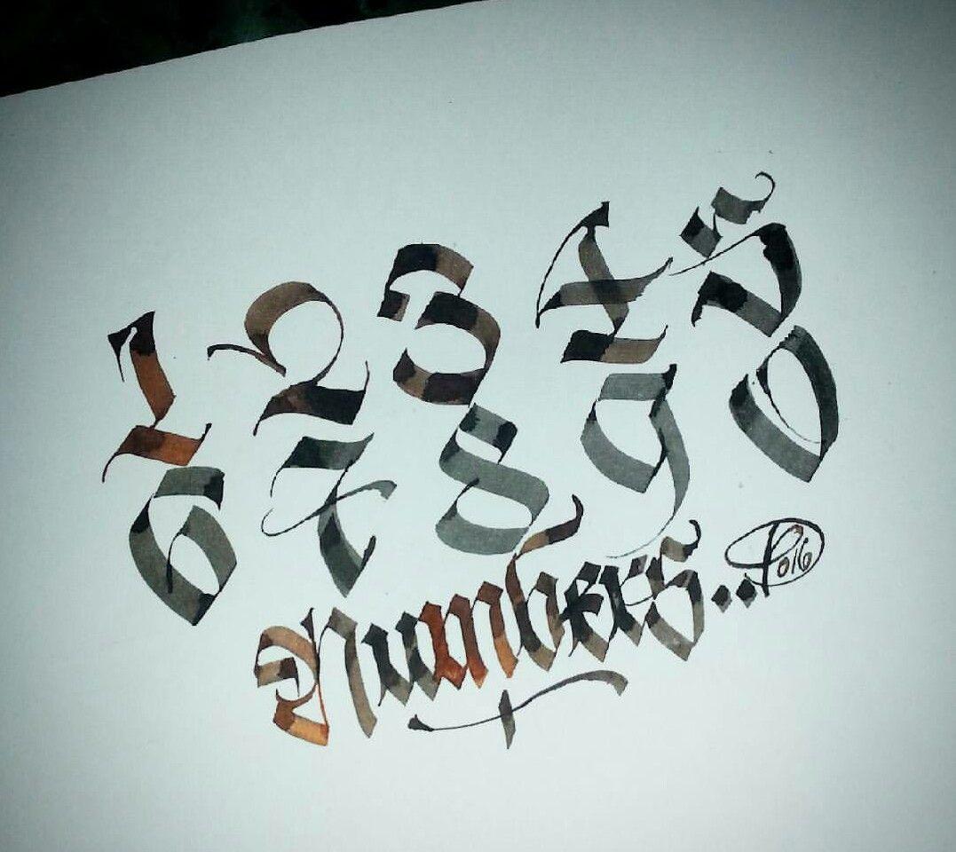 Paindesignart Graffiti Lettering Hand Lettering Alphabet Tattoo Lettering Fonts