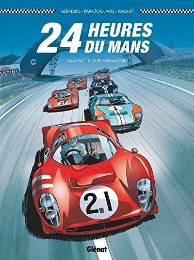 24 Heures Du Mans 1964 1967 Vintage Racing Poster Le Mans