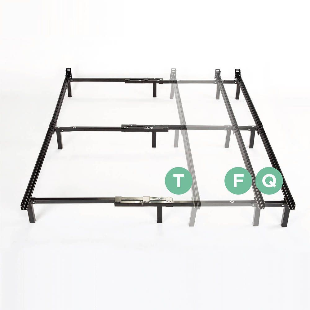adjustable bed frames kit queen full twin sizes metal support