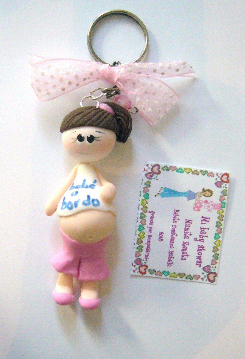 e1da2991ccdf Llaveros Recuerdos Baby Shower Pasta Francesa Flexible - $ 18.00 ...