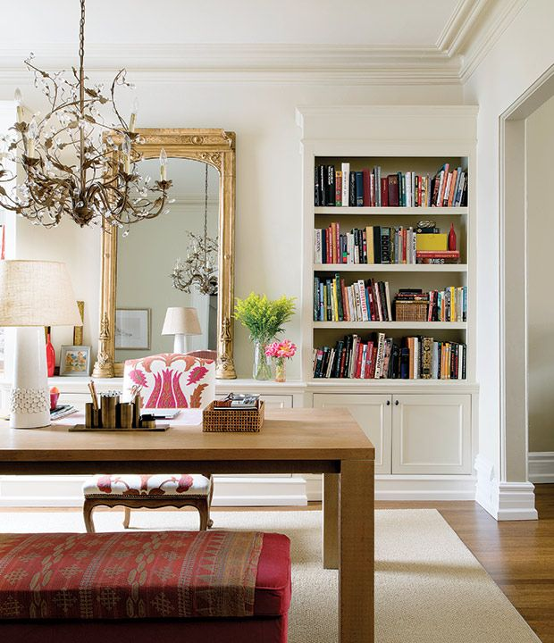 dining room home office | 3 Double-Duty Rooms That Maximize Space | Dining room ...