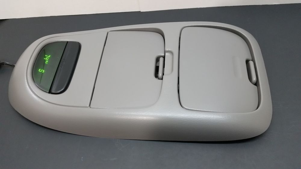 98 03 Ford Oem F 150 E 150 Overhead Console Compass Display Gray A220 Fordoem Ford Ford F150 Ebay Cars