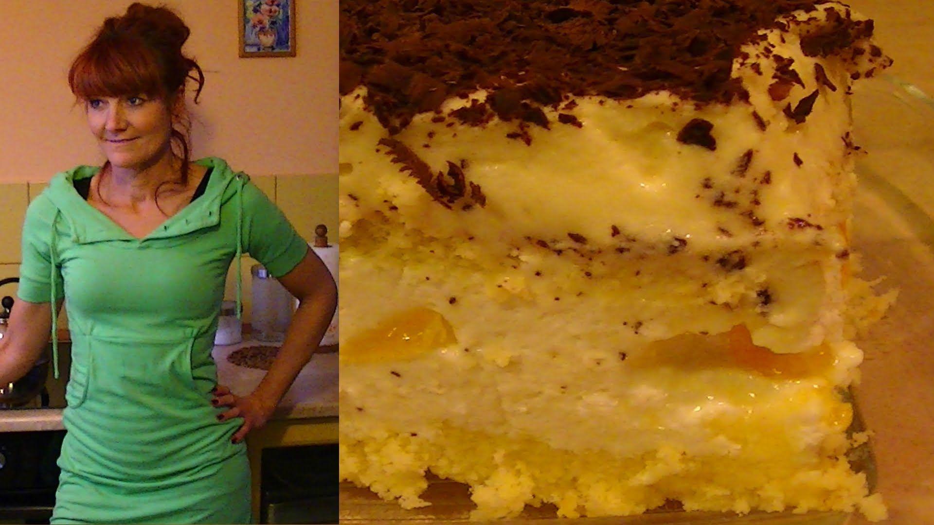 Ciasto Mandarynkowe Z Kremem Adwokatowym Kuchniarenaty
