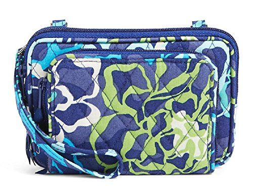 Womens On The Square Wristlet Midnight Blues One Size Vera Bradley Xf0jy