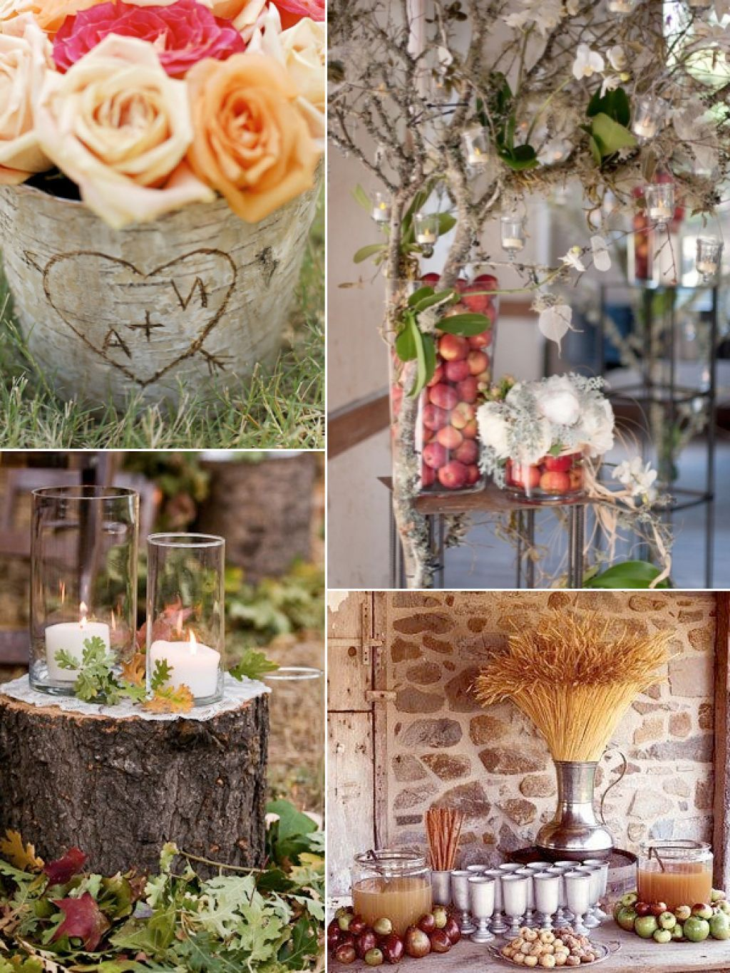 Wedding decoration ideas at home  Simple Rustic Wedding Decorating Ideas  More info could be found