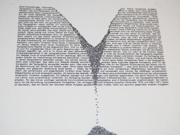 Univers Font Study by Rachel Galindo, via Behance