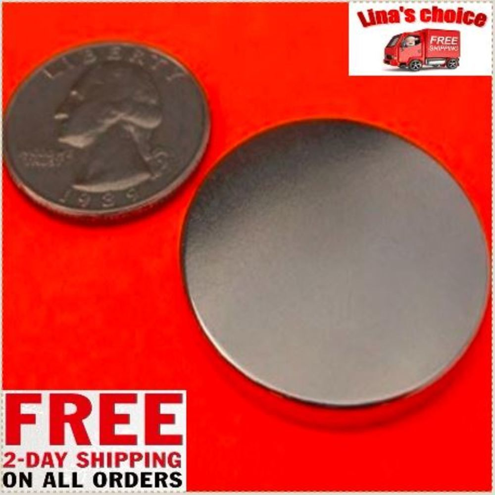 Rare Earth Neodymium Magnet Magnets Super Strong N52 Disc Magnet 1 26 X 1 8 Inch Appliedmagnets Neodymium Magnets Disc Magnet