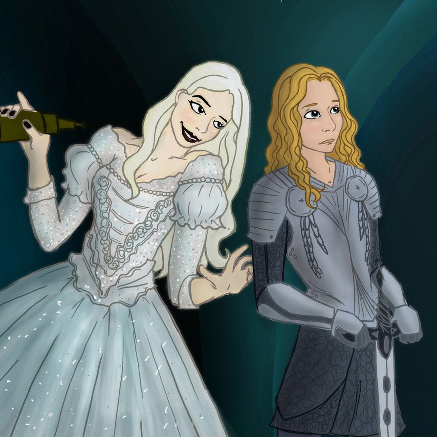 Alice and the White Queen by FemFishTherein5 on DeviantArt