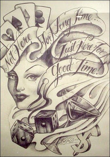 Tattoo Apprentice Portfolio Google Search Tattoo Art Drawings Casino Tattoo Kat Von D Tattoos