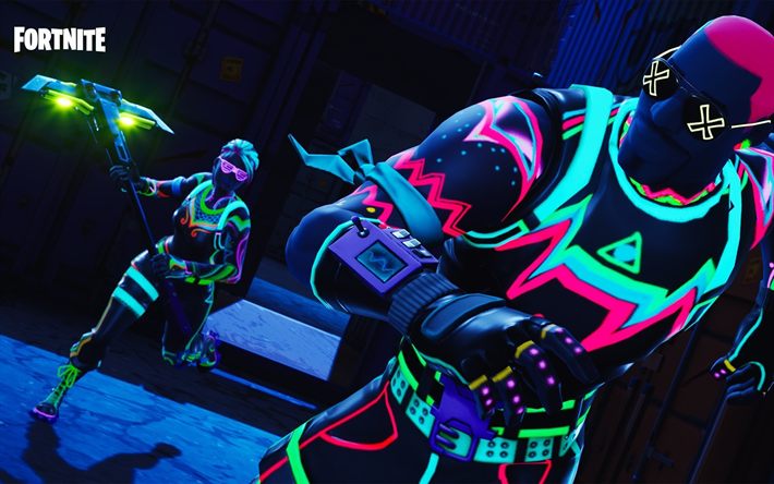 Download Wallpapers Ghoul Trooper Funk Ops Fortnite Battle