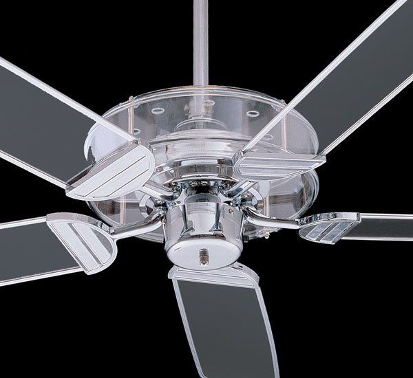 Quorum International 400525 14 52in Prizzm Ceiling Fan Clear