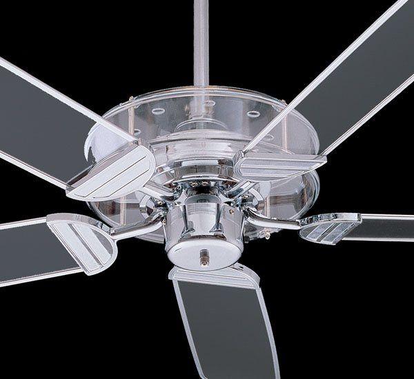 quorum international 400525-14 52in. prizzm ceiling fan, clear