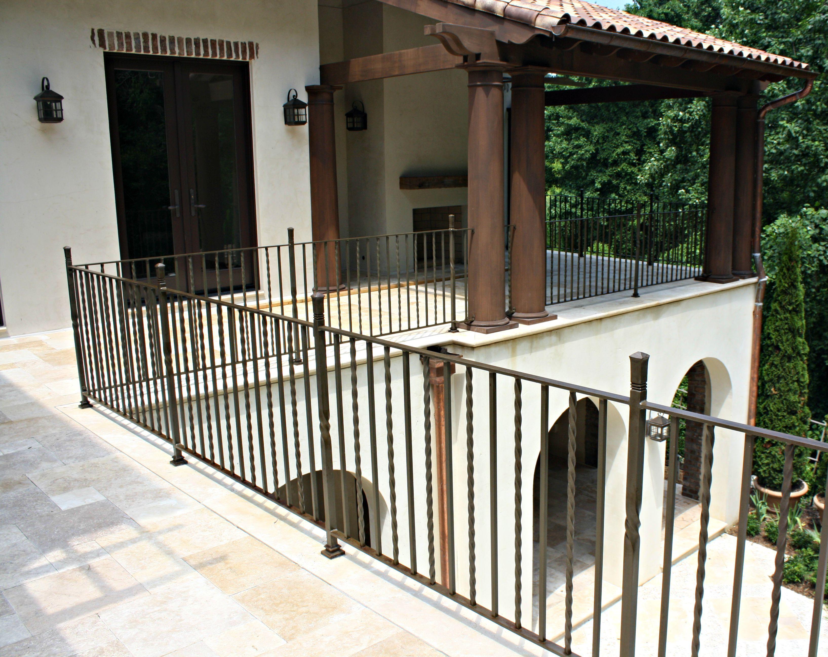 spanish wrought iron railings exterior - Google Search ...
