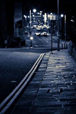 Empty Street At Night In Dublin Ireland Photo Credit Gyula Rusinczky