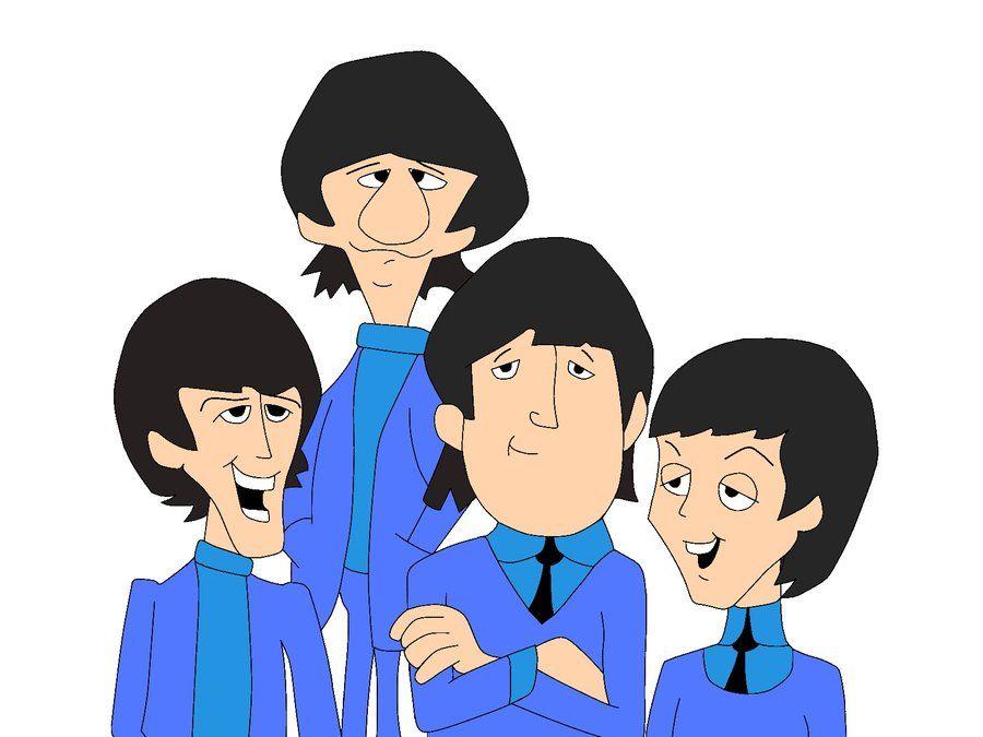 Afbeeldingsresultaat voor beatles cartoon