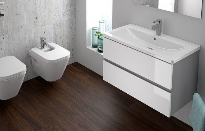 Comercialização e fabrico de artigos sanitários, com uma ampla gama de produtos que lhe permite criar soluções de sala de banho à sua medida