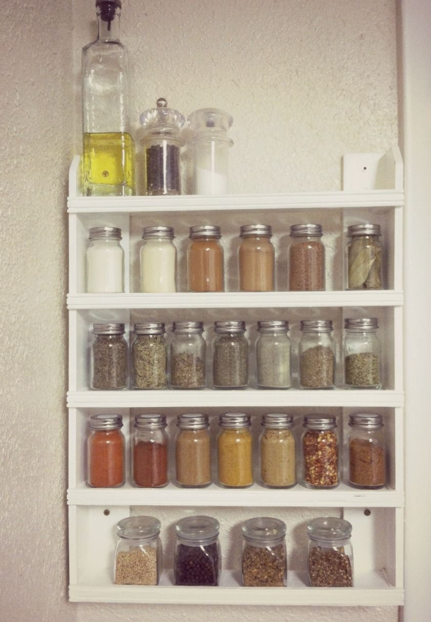 27 Spice Rack Ideas For Small Kitchen And Pantry Wooden Spice Rack Wall Spice Rack Spice Rack Design