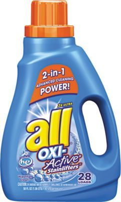 All He 2x Ultra Oxi Active Stainlifters Laundry Detergent