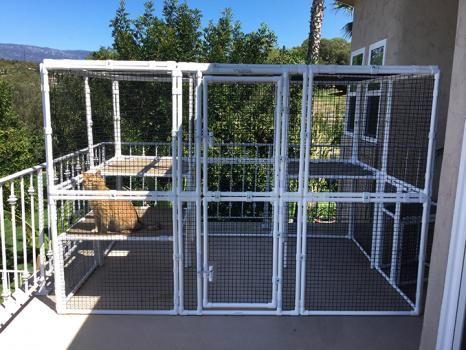 Modular Outdoor Cat Enclosure Kits | New house ideas