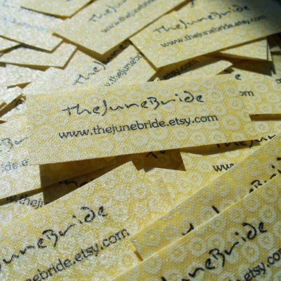 DIY Fabric Label Tutorial and Templates - Washable, No-Fray, Fully Customizable Labels