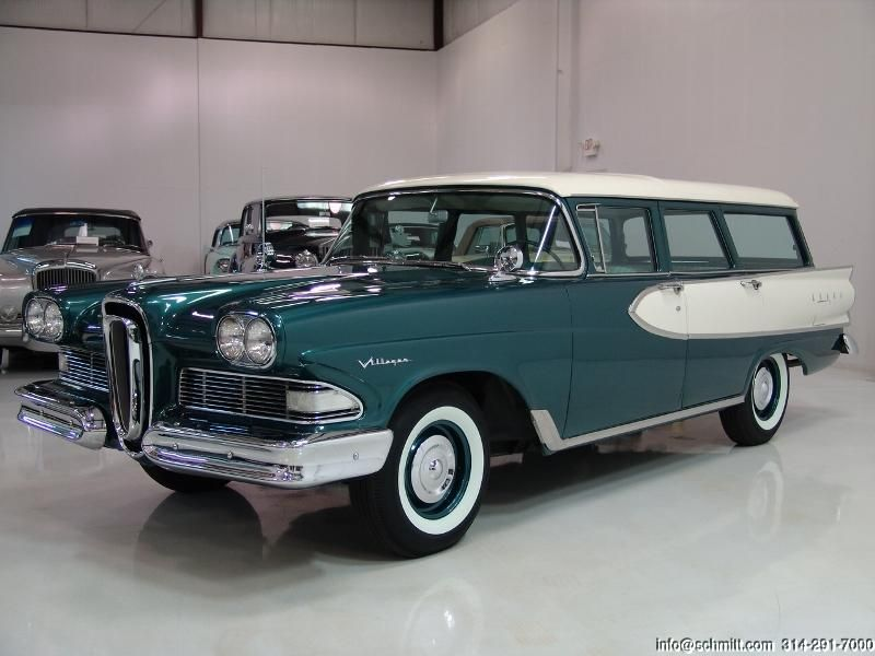 Edsel Villager Wagon Photos News Reviews Specs Car Listings Edsel Station Wagon American Classic Cars